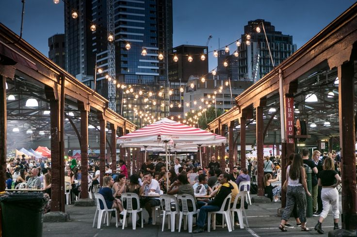 Queen Victoria night Market - Wednesday nights summer