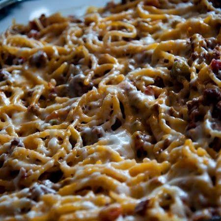 Baked Spaghetti - Paula Deen Recipe | Key Ingredient.Love this