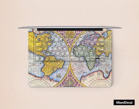 keyboard decal  keyboard sticker macbook keyboard by MixedDecal