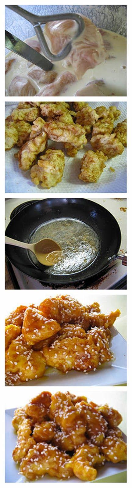 Recipe Best: Chinese Honey Chicken Recipe