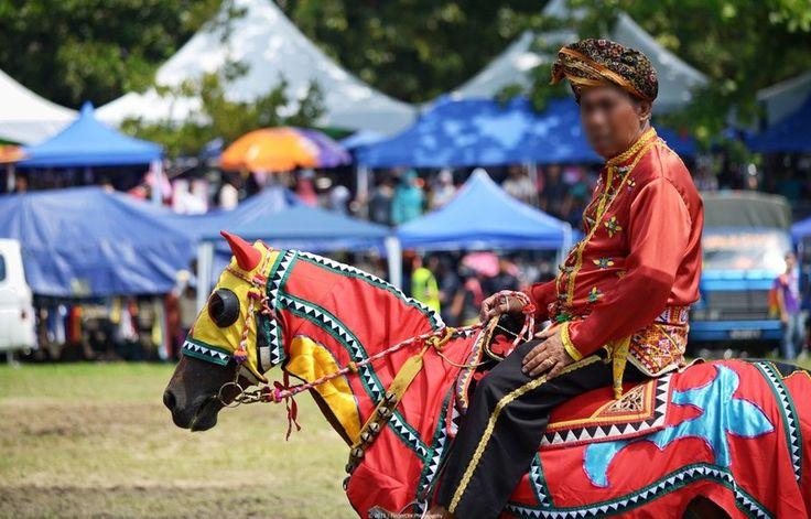 Le Bajau - Un Bajau lors une fête traditionnelle