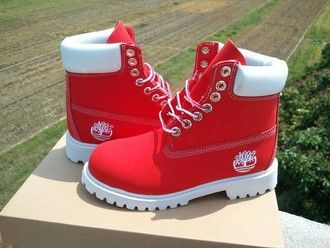 shoes red timberlands coat cardigan timberlands looking for all colors timberland boots shoes jewels red and white timberland boots white timberlands timberlands boots boots fire