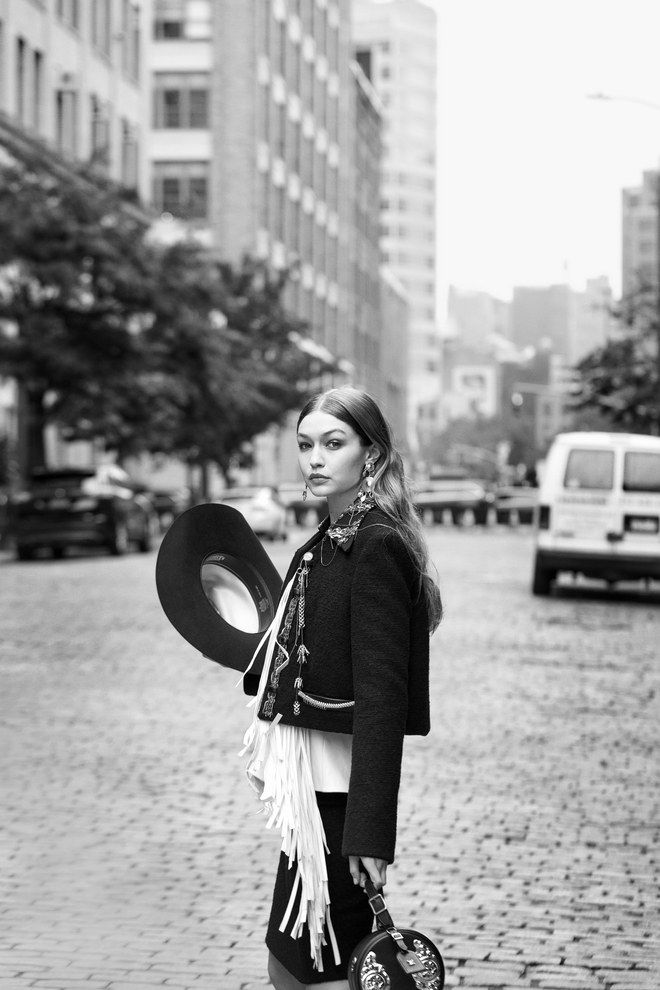 a6c0dade See Gigi Hadid in the Season's Best Western-Inspired Fashion in 2019 ...