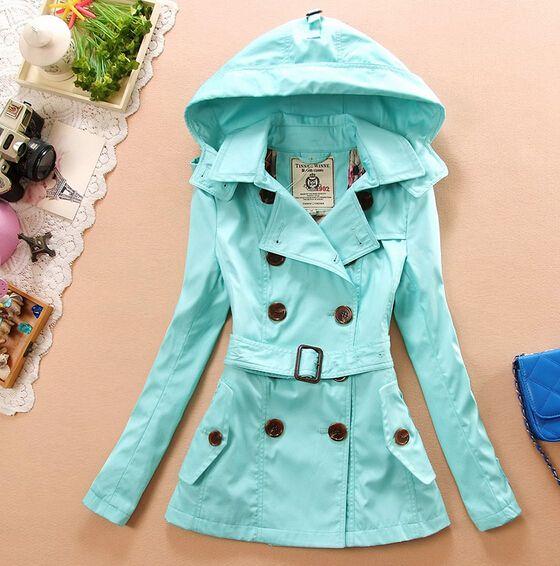 Slim long-sleeved windbreaker jacket #100109AC BUT NAVY