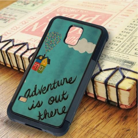 Adventure Is Out There Balloon Up Carl Samsung Galaxy S5 Case