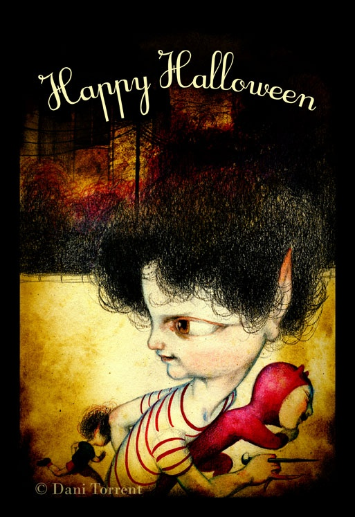 happy halloween! Dani Torrent | my work. posters and greetings ...