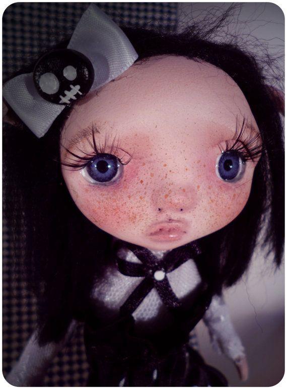 #handmade #ooak #poseable #doll