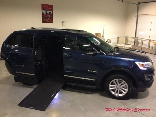 New Wheelchair Van For Sale: 2017 Ford Explorer Wheelchair Accessible Van For Sale with a on it. VIN: 1FM5K7D81HGA90198