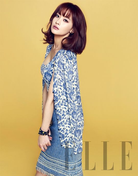Oh Yeon-seo - Elle April 2013