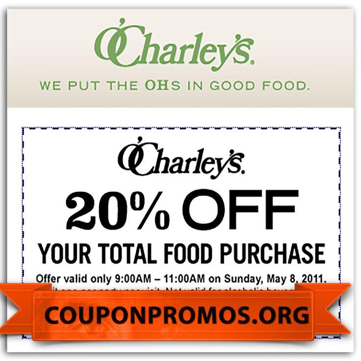 coupons for o charleys printable
