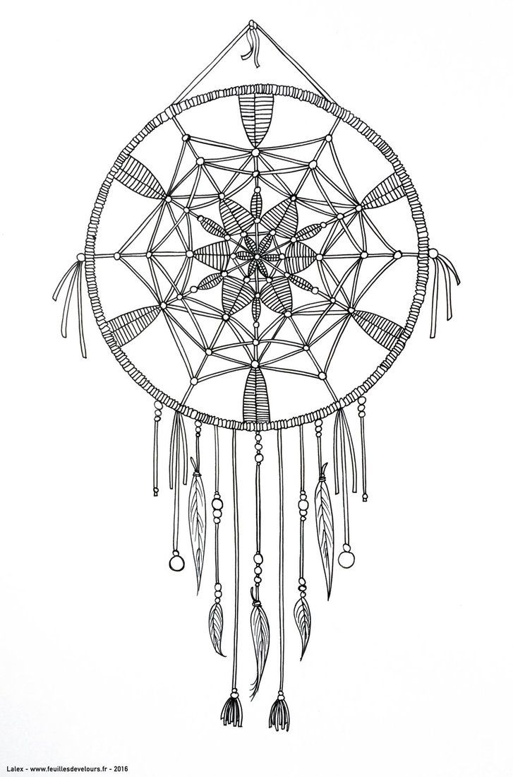 how to make an authentic dreamcatcher