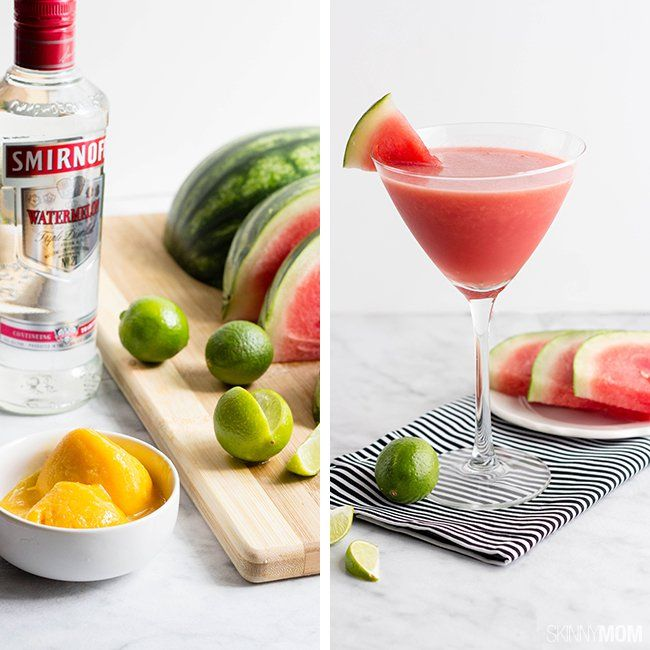 Recipe:+Skinny+Watermelon+Martinis