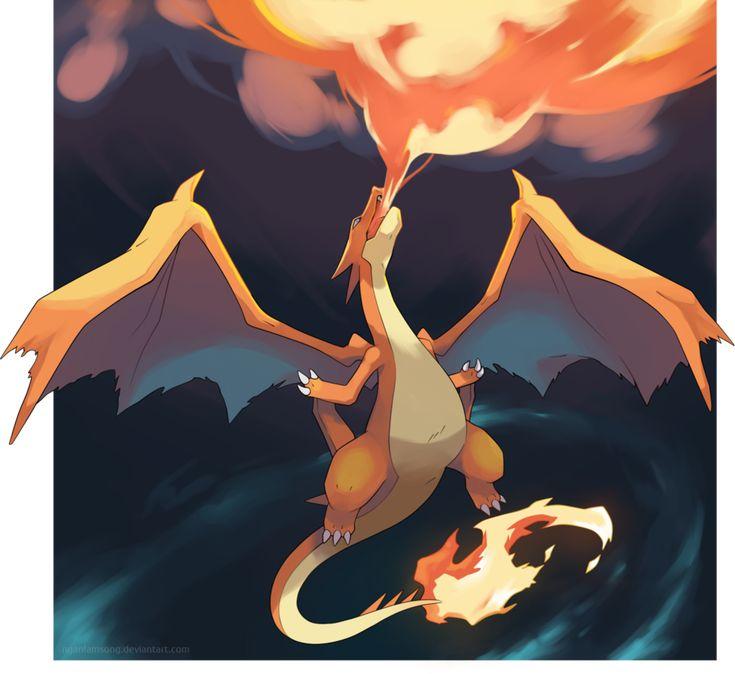 Mega Charizard Y - The rise of Lizardon by nganlamsong