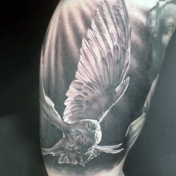 Bird Leg Tattoo For Men
