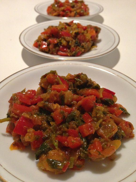 Marokkansk tomatsalat, Taktouka