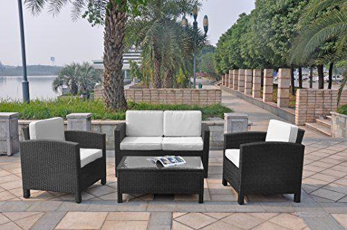 XINRO 13tlg. Deluxe Lounge Möbel Set Gruppe Garnitur Gartenmöbel Lounge Set Rattan Polyrattan Sitzgruppe - inkl. Lounge Sofa + Sessel + Tisch + Glasplatte + mit Kissen - In/Outdoor - handgeflochten - schwarz Jetzt bestellen unter: https://moebel.ladendirekt.de/garten/gartenmoebel/loungemoebel-garten/?uid=0f5f1a31-4d3f-56d7-811c-ea7477b197ff&utm_source=pinterest&utm_medium=pin&utm_campaign=boards #garnituren #sofas #loungemoebelgarten #garten #wohnzimmer #gartenmoebel