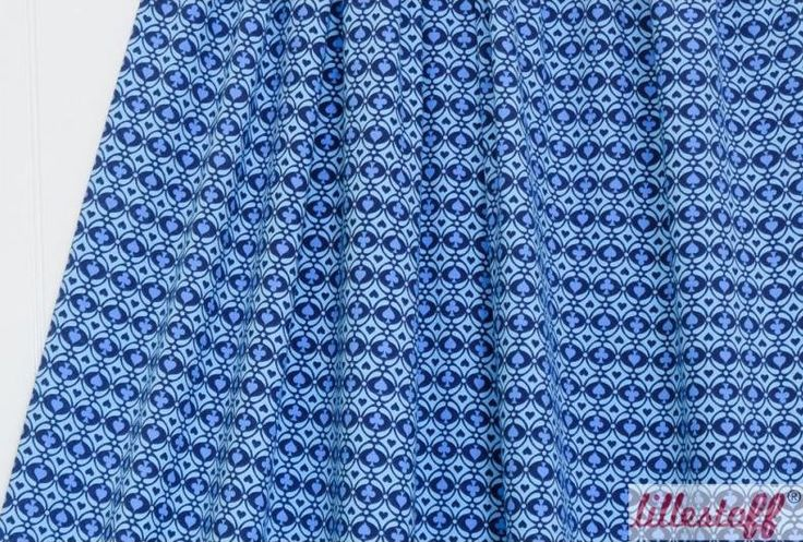 Lillestoff Rummy Blue Kombi GOTS jersey 50cm x 150cm