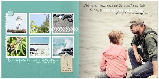 A Photo Book Style Just for Digital Scrapbooking!