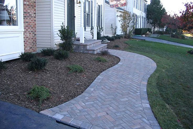 Cambridge Paver 4 X 8 Holland With Border Of 6 X 9 Toffee