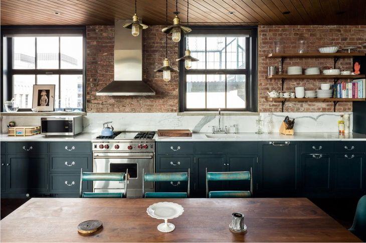 City Apartment Pic By Gotham Photo, Kitchen Cabinets Soho Nyc