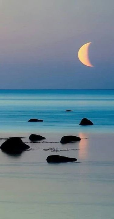 Moon & Beach......