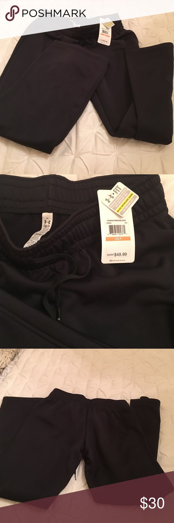 NWT under armour sweat pants size small NWT under armour sweat pants size small Under Armour Pants