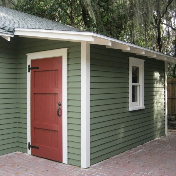 Additional Storage Can Be Added To Any Garage With A Shed