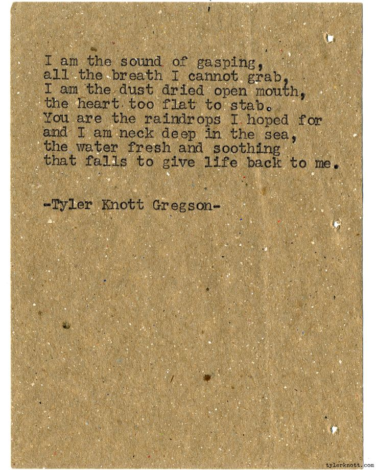 Typewriter Series #1068 by Tyler Knott Gregson*Chasers of the Light, is available through Amazon, Barnes and Noble, IndieBound , Books-A-Million , Paper Source or Anthropologie *