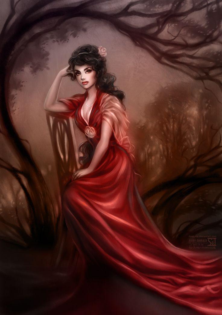 Lady in Red by daekazu.deviantart.com on @deviantART