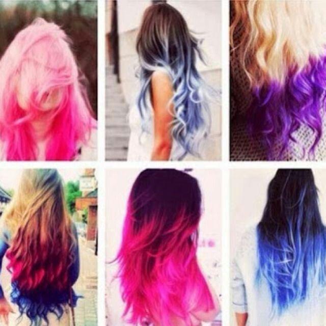 Amo i capelli colorati