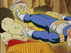 """03/12/16: Vegeta pulling Android 19 arms right off! Very much deserved if you ask me.. I've always had a """"pet peeve""""about enemies that steal others energy. Tune into DBZ Kia Saturdays at midnight on Toonami! Uploaded by #Ashley_Christina"""