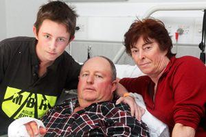 Chopper pilot cheats death twice http://www.givealittle.co.nz/cause/samkersten