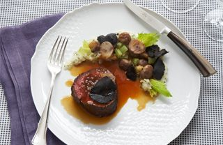 Pairing the most tender filet of beef with black truffles results in a meal certain to be unforgettable