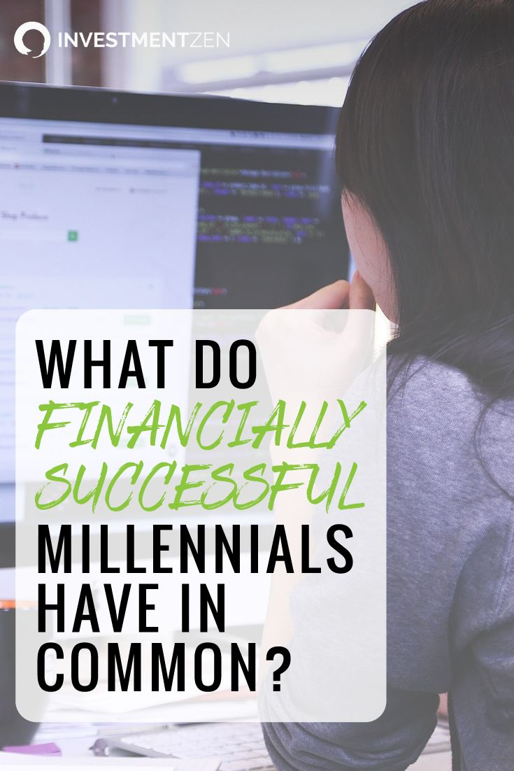 Best 25 certified financial planner ideas on pinterest what separates the millennials who are struggling with the ones who are thriving we asked xflitez Choice Image