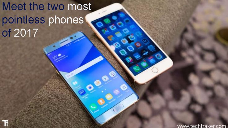Meet the two most pointless phones of 2017: The year two new and big size screen mobile is released with Hugh supports in 2017. The new trend to put large LCDs in mobile phones from the companies. Yes we are talking about Samsung and Apple mobile brands, which is recently launch their products with greatMore