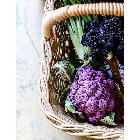 Chou fleur violet et kale