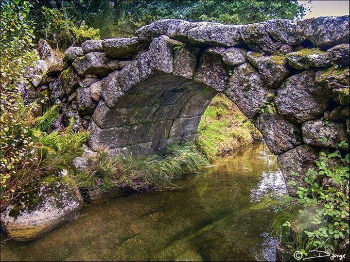 A Ponte da Dorna - Castro Laboreiro - Melgaço - Portugal. FOTOS by Daniel Jorge.