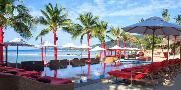 Beach Republic Ocean Club in Koh Samui.  http://www.theluxurysignature.com/2015/07/27/party-in-style-with-these-beach-clubs-bars-in-koh-samui/ #beach #club #thailand #kohsamui #nightlife