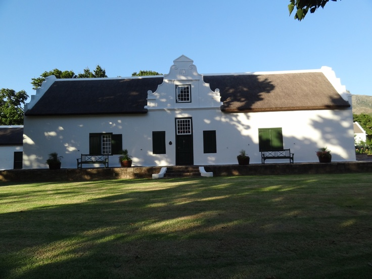 La Motte wine farm Franschoek.