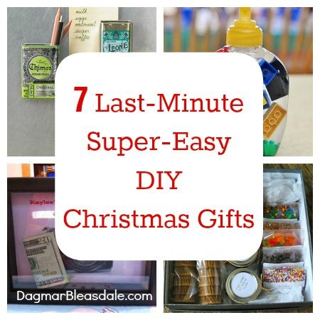 7 Last-Minute, Easy DIY Christmas Gifts