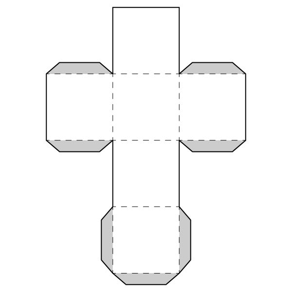 Free Printable Worksheet - Nets - Large net images of a cube, cylinder, and cone for students to cut-and-paste into solid figures. Great hands-on math activity.