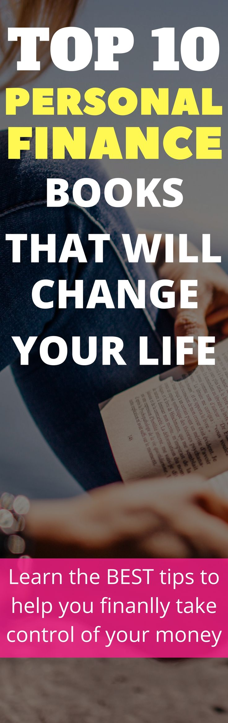 Top 10 personal financebooks that will improve your life and help you take full control over your financial situation for good! Check out this epic list of personal finance books if you want to learn REAL tips about mananing your money