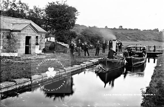 Lock Keepers Cottage Boyne River Canal County Meath  1890s