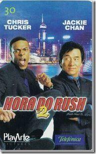 Descrição:  Série: Hora do Rush 2  Operadora: Telefônica  Tiragem…