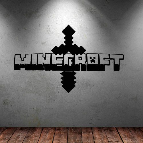 28 best cricut minecraft boys room decor images on for Awesome minecraft vinyl wall decals