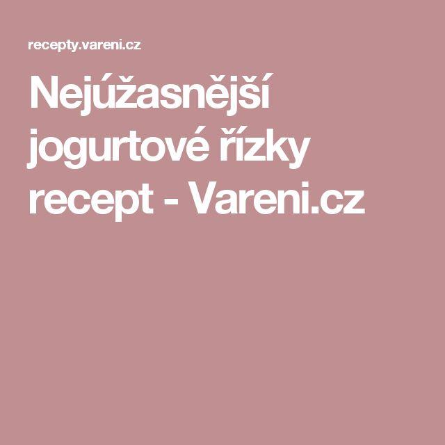 Nejúžasnější jogurtové řízky recept - Vareni.cz