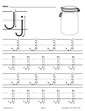 FREE Printable Letter A Tracing Worksheet With Number and ...