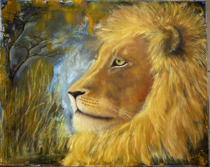 lion #1 by Yuliya