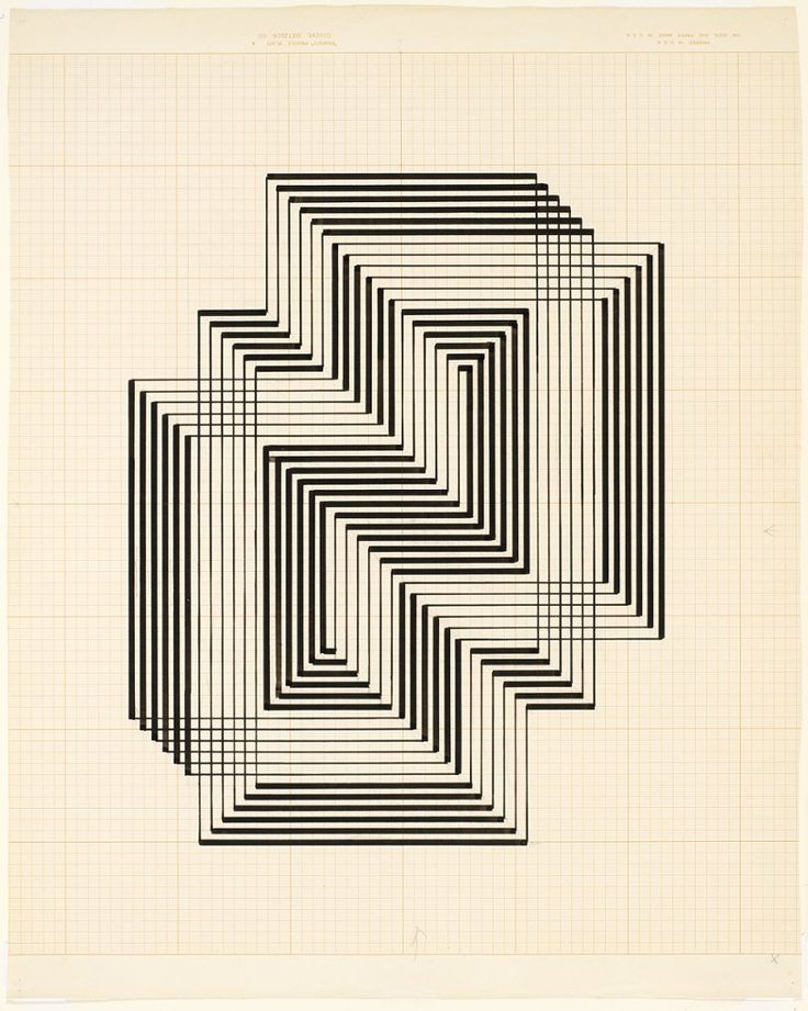 Blurred lines: Josef Albers' rare black and white drawings – in pictures