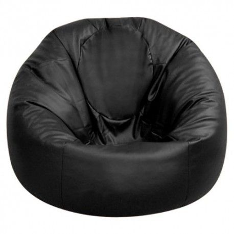 Extra Large Black Bean Bags - Large Black Bean Bags for Hire